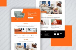 premium sofa collection email newsletter