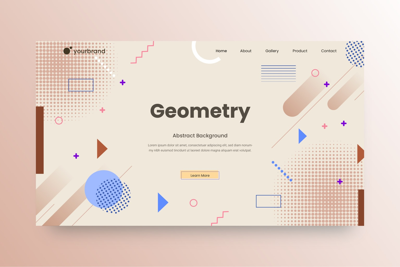abstract background geometric minimalist