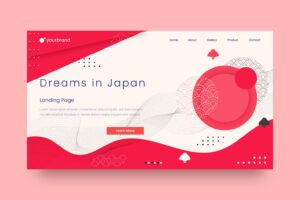 abstract background japanese style theme