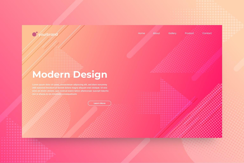 abstract background modern gradient design 1