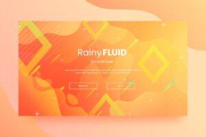 abstract backround rainy fluid