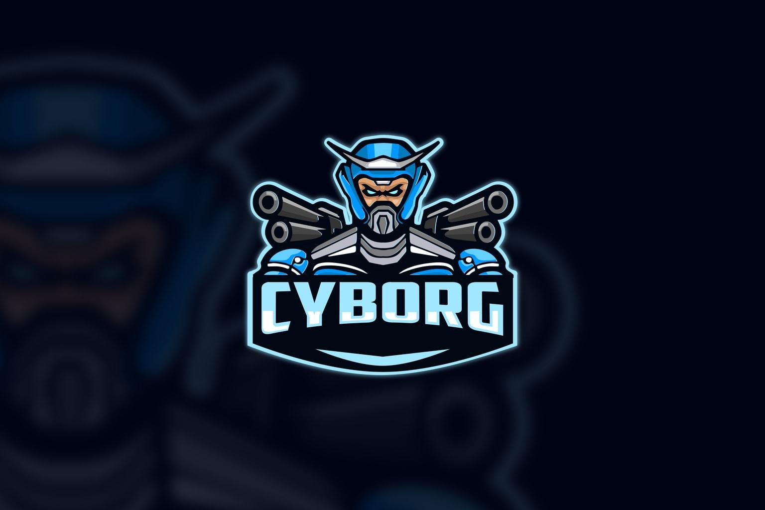 esport logo armed cyborg