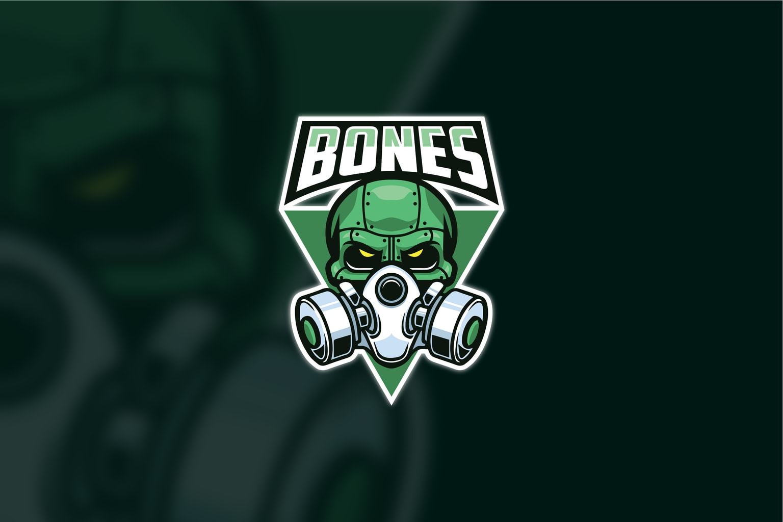 esport logo bone protector