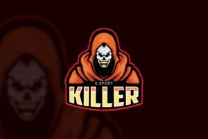 esport logo killer figure