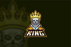 esport logo the oldest king