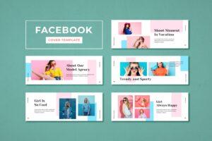 facebook cover model agency