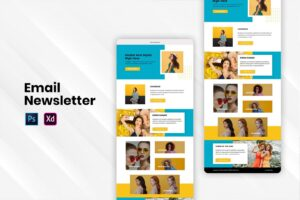 fashion trendy email newsletter