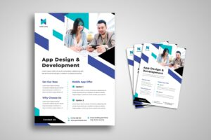 flyer app design development