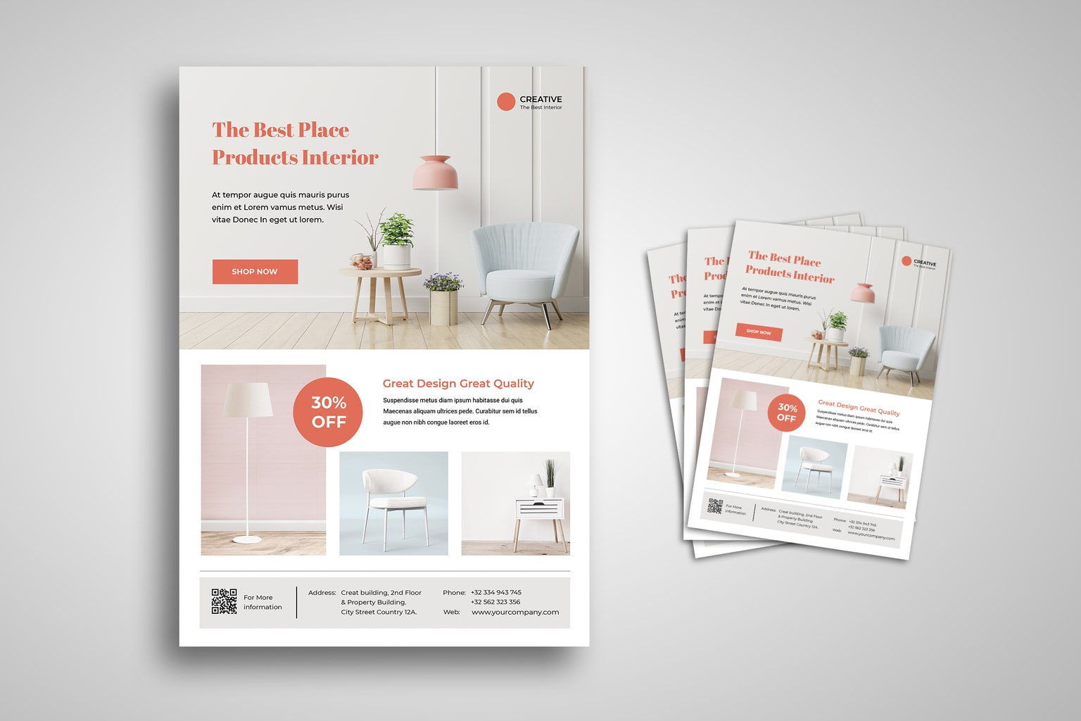 flyer best product interior
