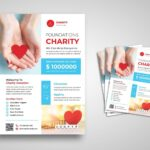 flyer charity with love