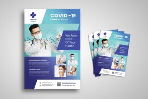 flyer corona virus treatment center 1