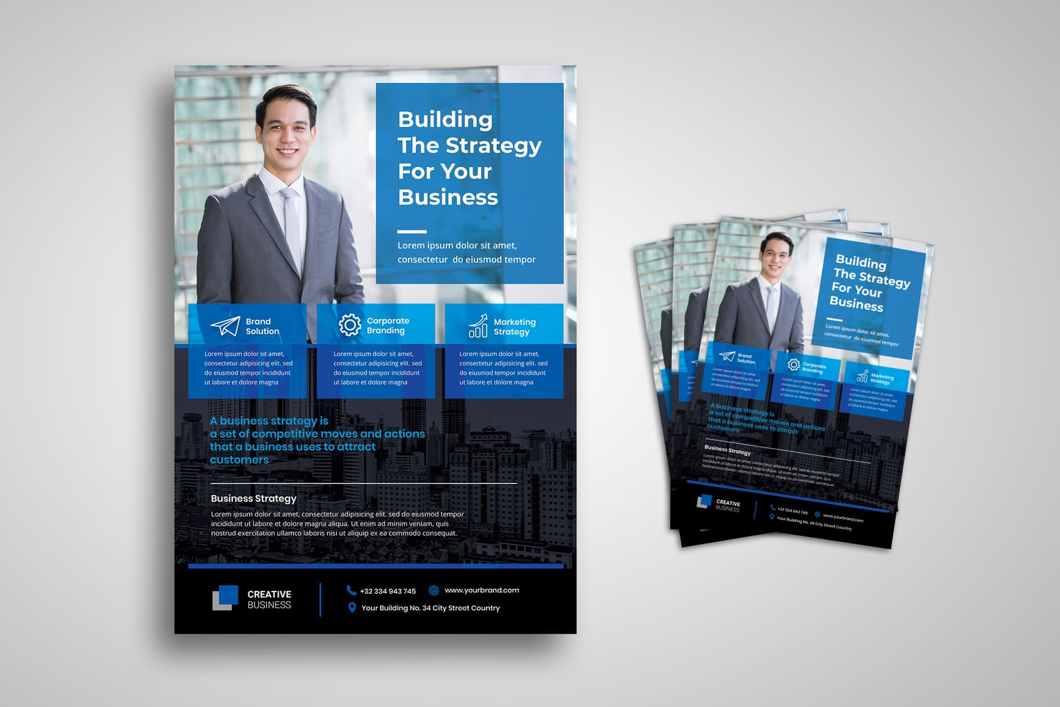 flyer corporate branding strategy 2