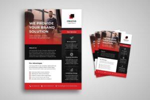 flyer corporate marketing strategy