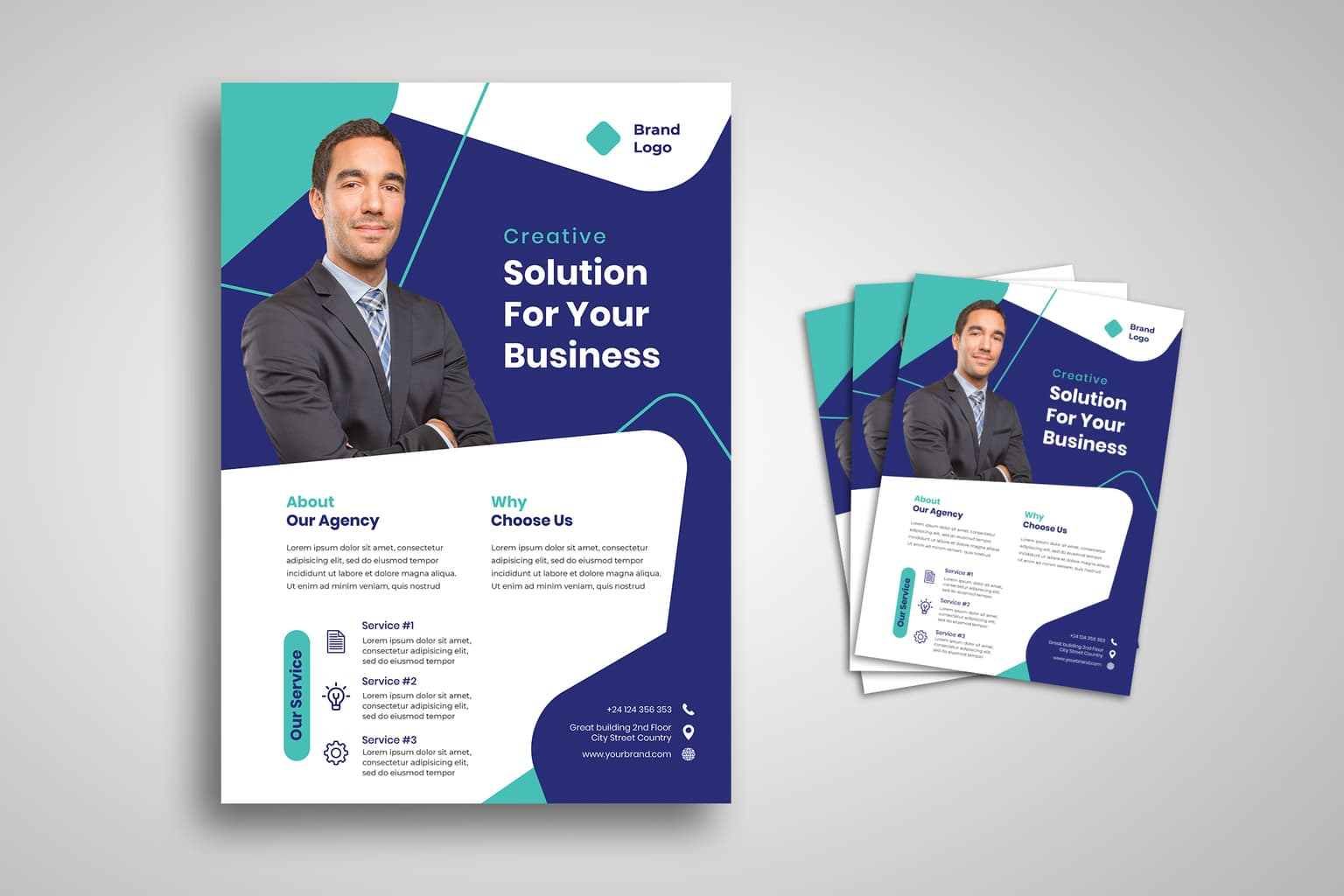 flyer creative solution for business