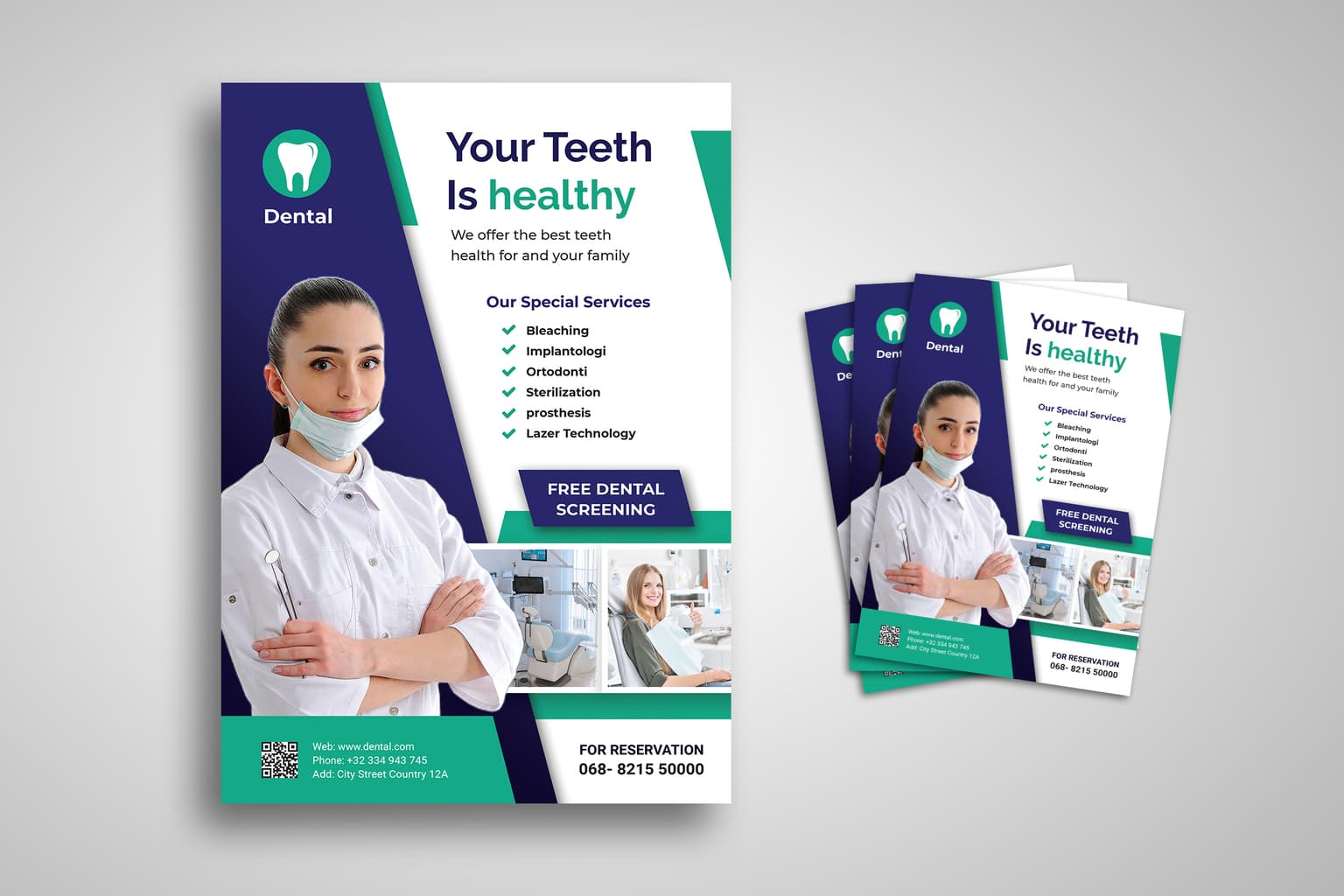 flyer dental health services 9