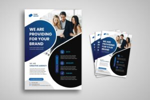 flyer development publishing agency 18