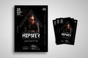 flyer hipster men clothing