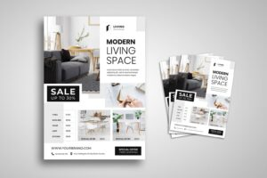 flyer modern living space 4