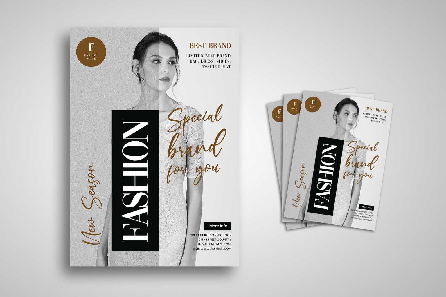 flyer new fashion limited