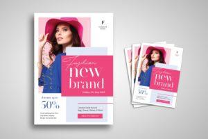 flyer new fashion women