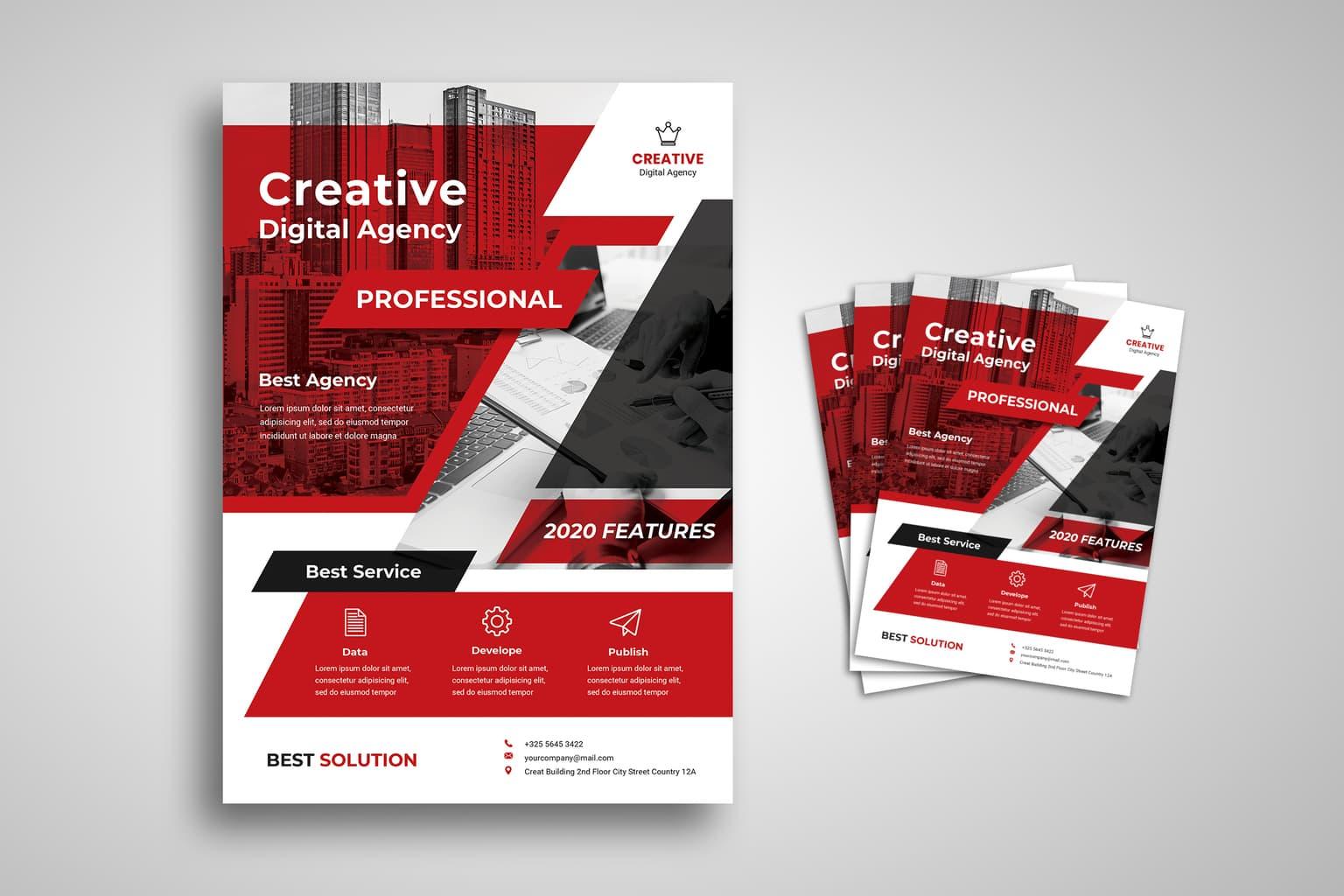 flyer professional digital agency