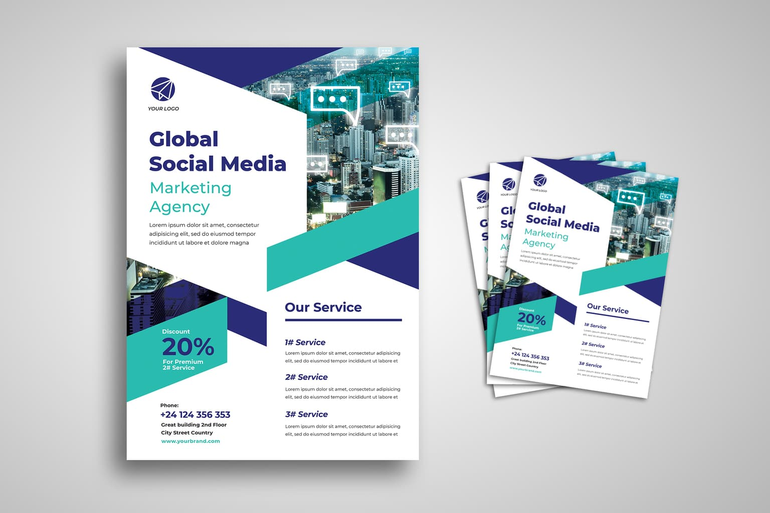 flyer special online marketing