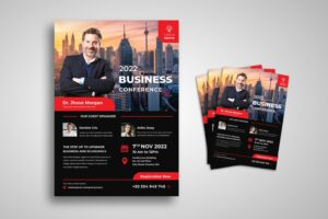 flyer template business creative conference
