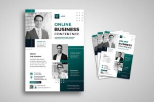 flyer webinar business