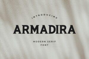 fonts armadira serif