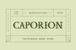 fonts caporion serif