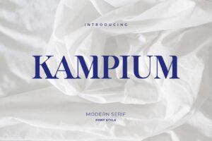 fonts kampium modern serif