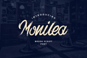 fonts monilea brush