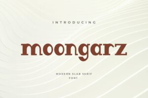 fonts moongraz sans serif