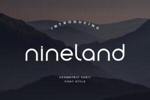 fonts nineland serif