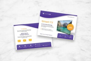 postcard smart tv product