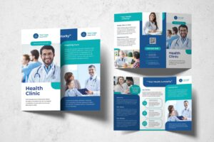 trifold brochure priority healthy clinic